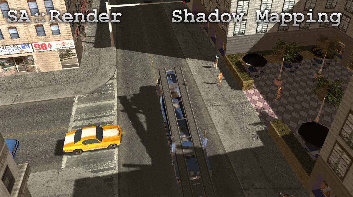 SA::Render (Улучшение графики в GTA San Andreas)