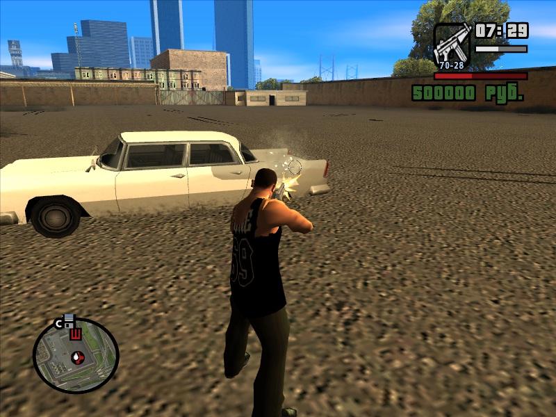 Не реалистика в GTA San Andreas
