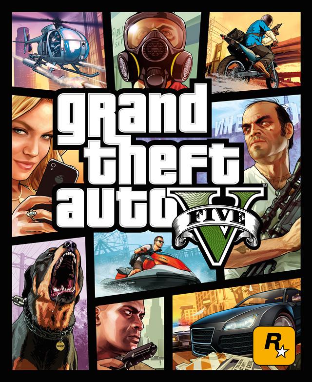 Бокс-Арт GTA 5 Официальный