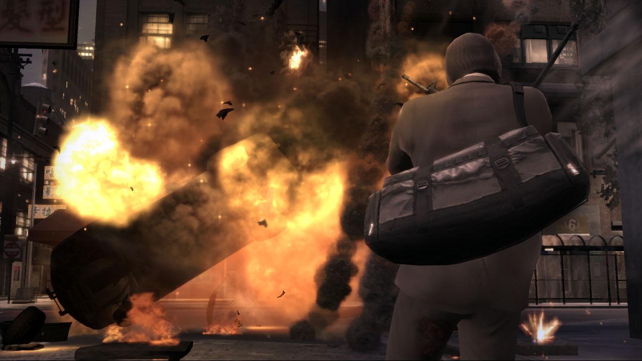 Ограбление банка в GTA 4