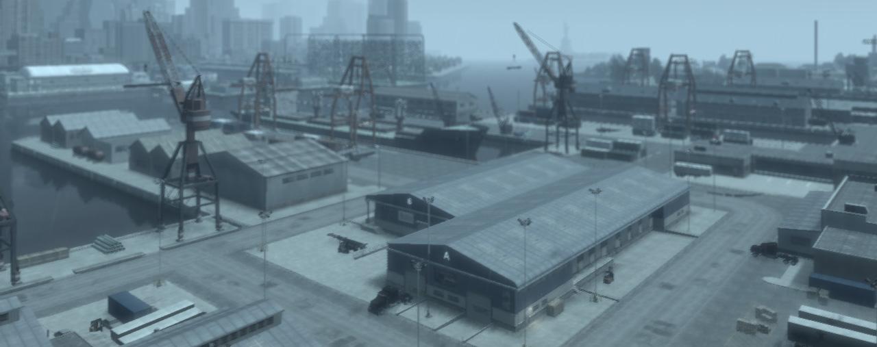 Кораболь в Тюдоре в GTA 4