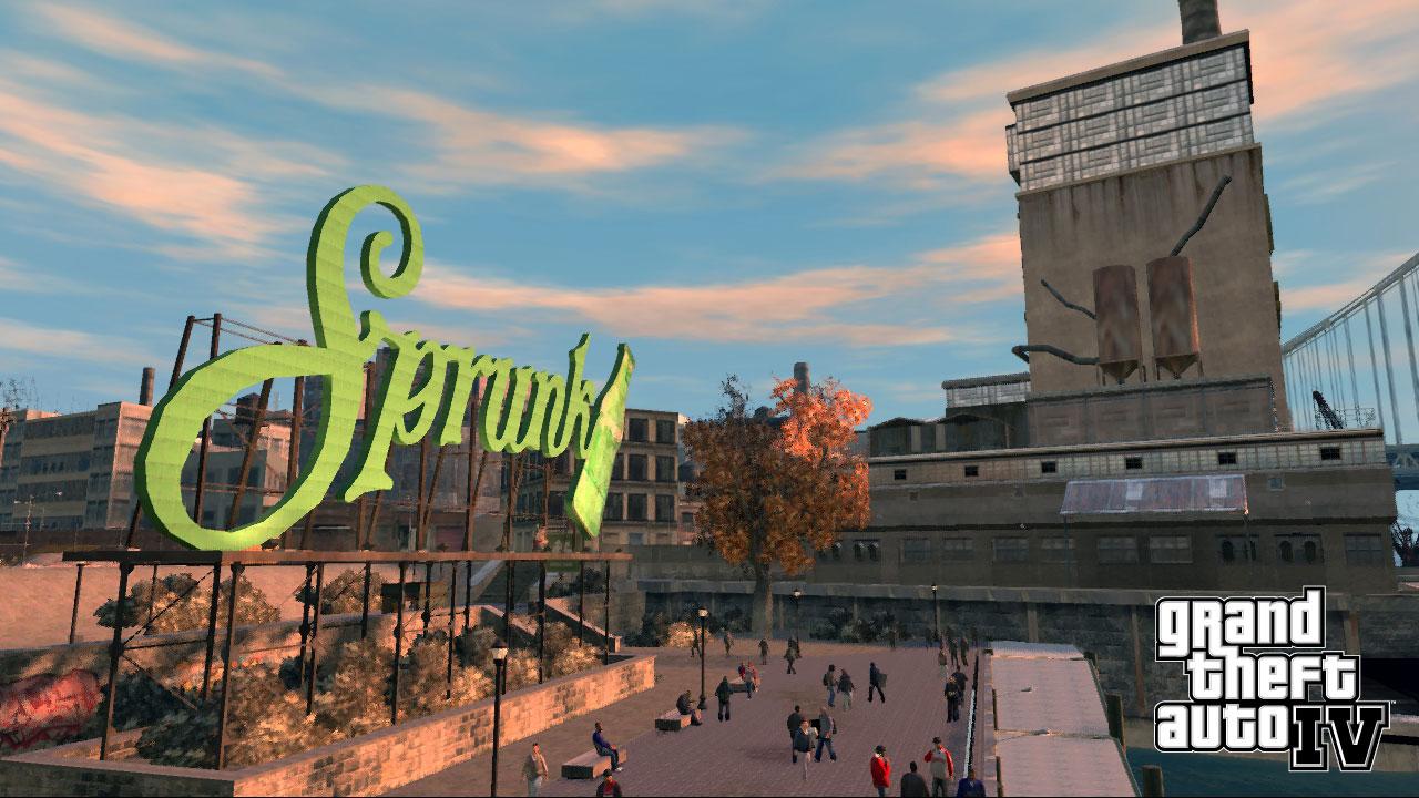 Sprunk GTA 4 Склад, призрак