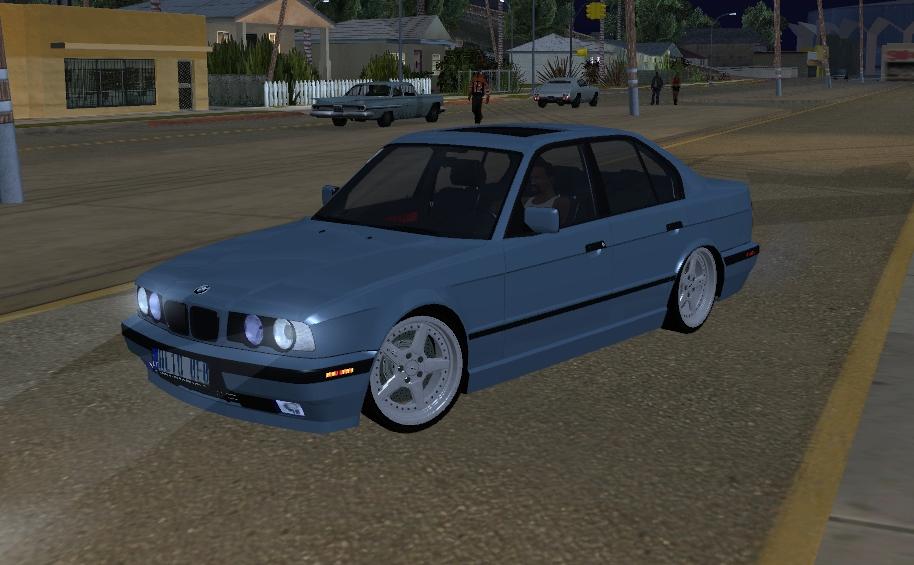 BMW E34 V8 540i (БМВ для GTA San Andreas)