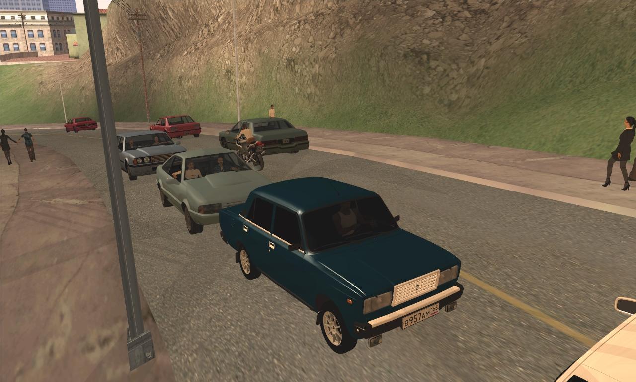 Ваз 2107 для GTA San Andreas (v2.0)