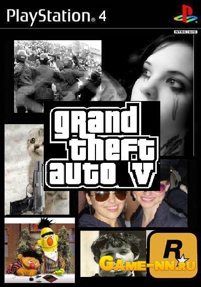 Фотошоп мастер, GTA 5 на Platstation 4