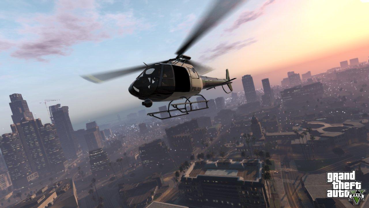 Город GTA 5